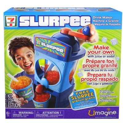 7 Eleven Slurpee Drink Maker- she also requested this. That's it. 2 things she wanted out of the whole magazine.