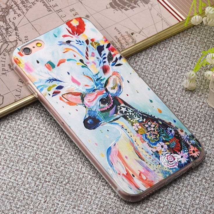 Fashion Relief Colorful Flower Plants Leaves Case For iphone 7 Case Cute Cartoon Leaf Back Cover Phone Cases For iphone 6 PLus | iPhone Covers Online