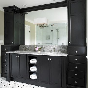traditional bathroom double bathroom vanities design ideas pictures remodel and decor