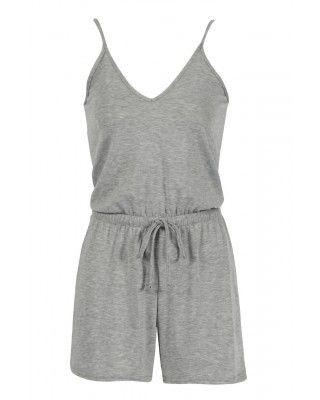 grey playsuit