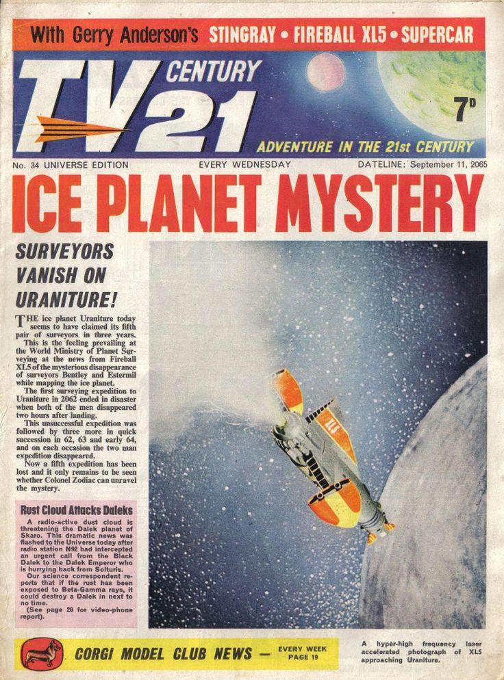 TV Century 21 issue number 34