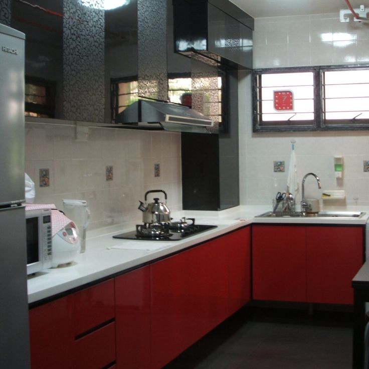 Red Black And Gray Kitchen Ideas