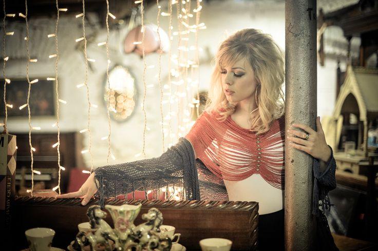 beaded amour top from wearwewander.com  #ethicalfashion #bohofashion #bohostyle #irishdesign