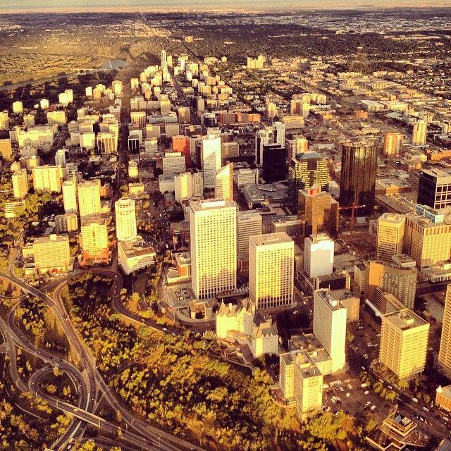 "Downtown Edmonton, Alberta @derekallenonair's photo: ""Downtown #yeg"""