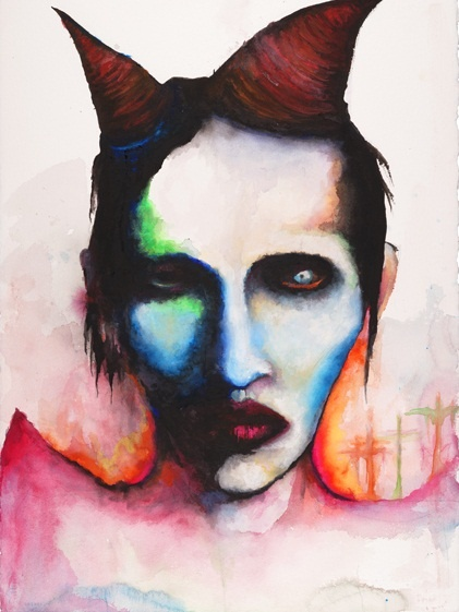 Velvet Honey Jar: Art by Marilyn Manson