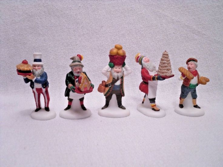 Dept 56 Early Rising Elves Heritage Village Collection