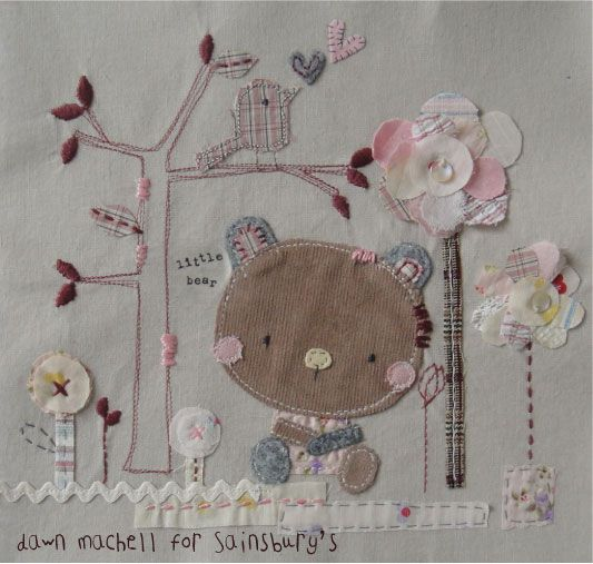 fabric art/applique by dawn machell