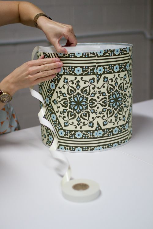 DIY lamp shade   The DIY Adventures- upcycling, recycling and do it yourself from around the world.