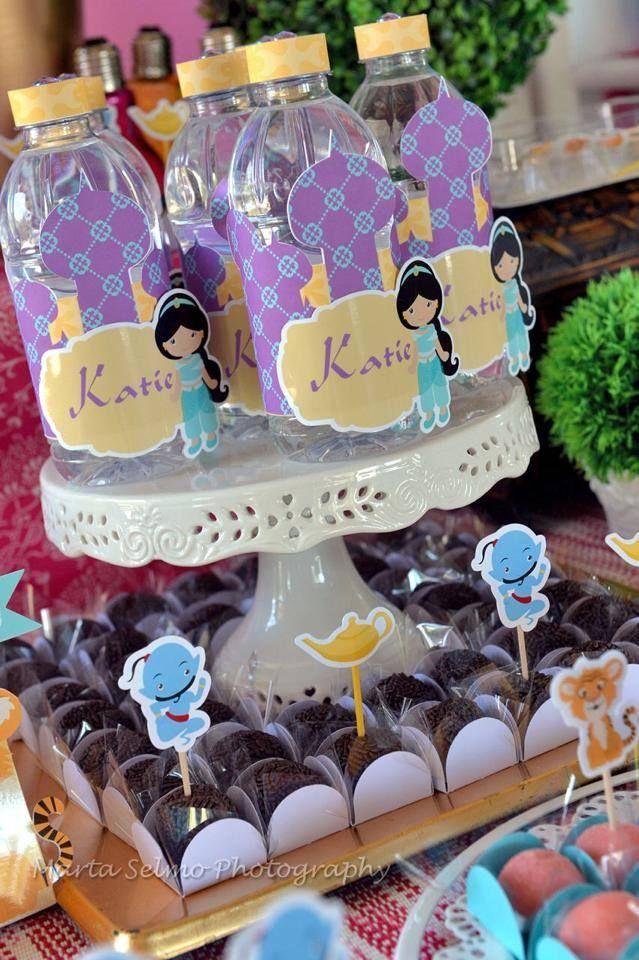 Festa princesa jasmine e aladdin - Yasmine de aladin ...