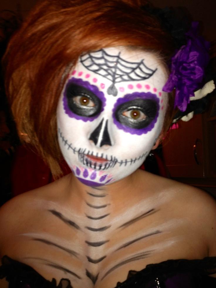 230 best Halloween images on Pinterest | Halloween makeup, Day of ...