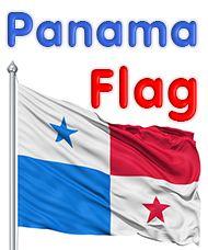 Panama Flag - colors meaning history of Panama Flag