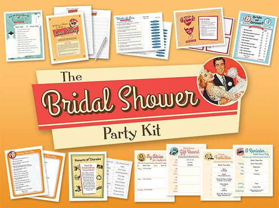 The Bridal Shower Party Kit features 7 fun games, 3 host helper forms, and a My Advice keepsake for the bride. The kit includes all of the following:  Fun party games: • How Well Do You Know This Couple? • It Takes a Village to Write a Love Story • Words of Love Match Game • 2 Truths & a Lie • Bride or Groom? • Wedding Trivia Quiz • Romantic Charades  Host helpers: • Gift Record • Order of Festivities • Party Email Reminder  Brides keepsake: • My Advice for a Happy Marriage  Just downloa...