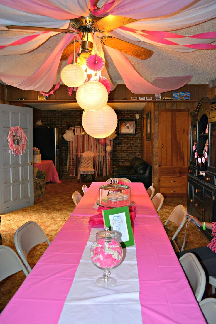 Baby Girl Baby Shower - High Heels and Grits Rural Small Town Country blog from a city event planner turned small town homemaker