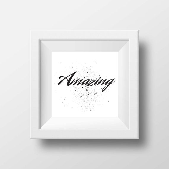 Amazing quote typography quotes print decor home by cre8corner