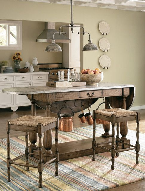 Kitchen Island With Drop Leaf Clearance Luxurious Farmhouse Kitchen Drop Leaf Table Decoratively Annie Sloan Painted Cabinets Fantastic Traditional Living F Oak Kitchen Furniture Cottage Chic Kitchen Chic Kitchen