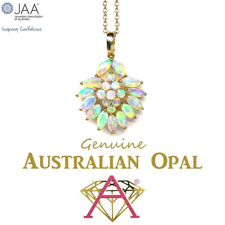 Genuine Australian Opal Cluster.