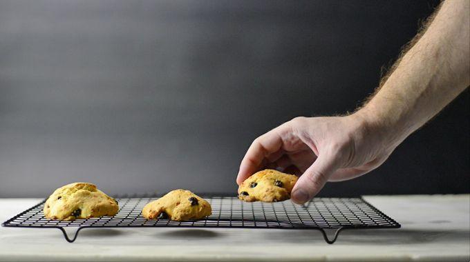 Φανταστικά μπισκότα με Μύρτιλο και Flair Cottage cheese!