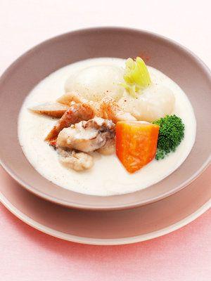 【ELLE a table】牡蠣と根菜の豆乳シチューレシピ|エル・オンライン