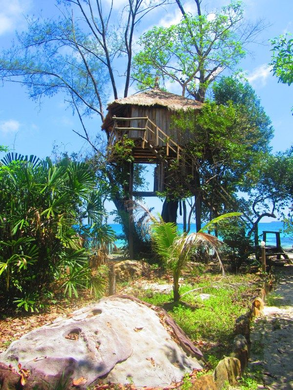 Treehouse Bungalows, Koh Rong, Cambodia