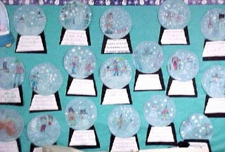"""If I lived in a snow globe...""  Maybe a creative writing activity for the week before break?"