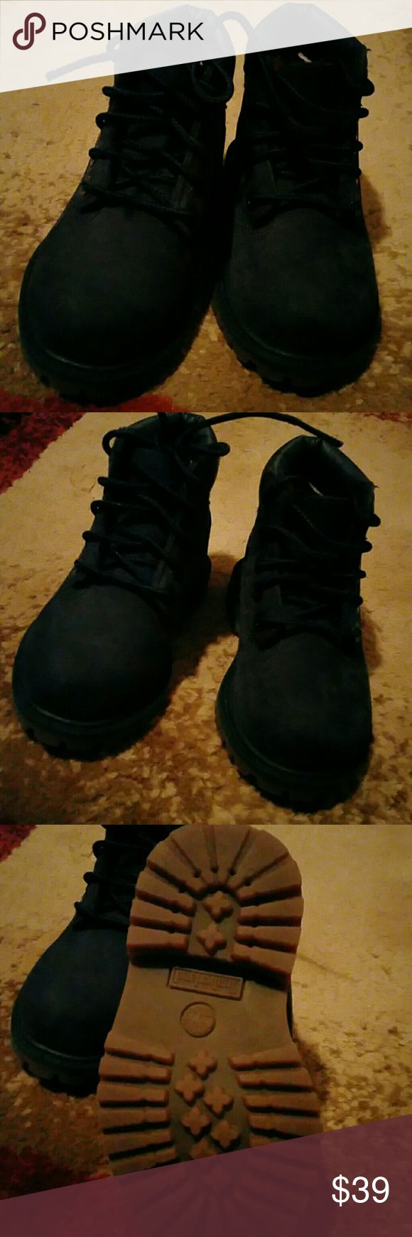 Toodler Timberland boots size 4. 5 Navy blue Timberland Shoes Ankle Boots & Booties