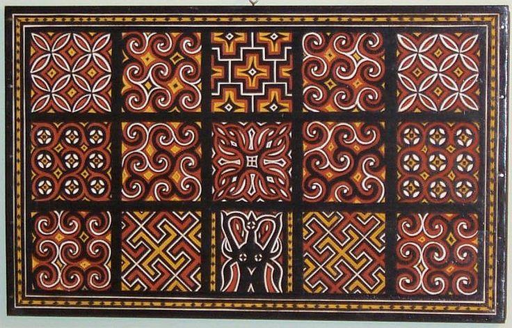 Sulawesi/ Toraja wood carving: each panel symbolizes goodwill