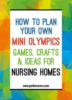 In a few weeks the Summer Olympics Games will start in Rio de Janeiro, Brazil. What a spectacular event and what a great opportunity to make your facility buzz with excitement! Now is the time to start planning your own in-house Olympics.