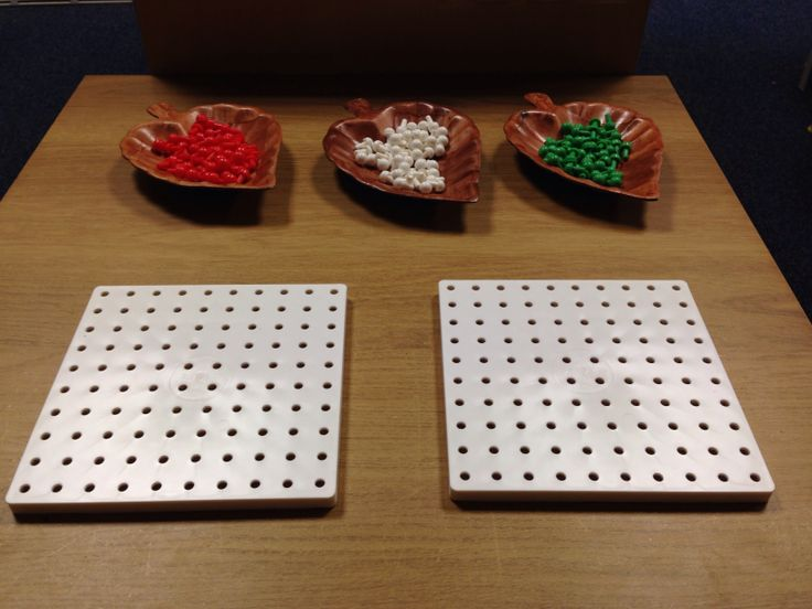 Finger Gym activity - Pattern making with pegs