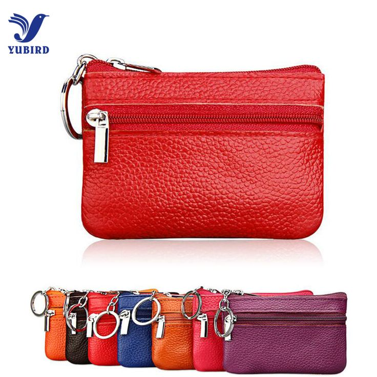 Fashion Coin Purses for Girls Genuine Leather Small Purse for Coin Children Wallet Key Ring Change Purse Monederos Mujer Monedas