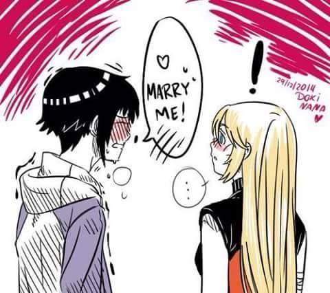 Naruto and Hinata gender bender