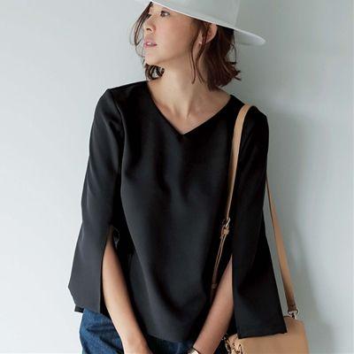 袖スリットブラウスのページです。カタログ通販ベルーナ(Belluna)はファッションアイテムが豊富な通販サイトです。