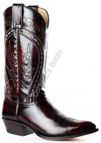 Bota cowboy Sendra punta redonda para hombre