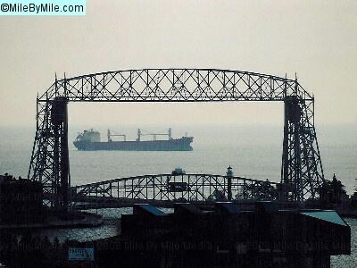 Canal Park - Duluth, MN  I miss watching the huge ships on Lake Superior.