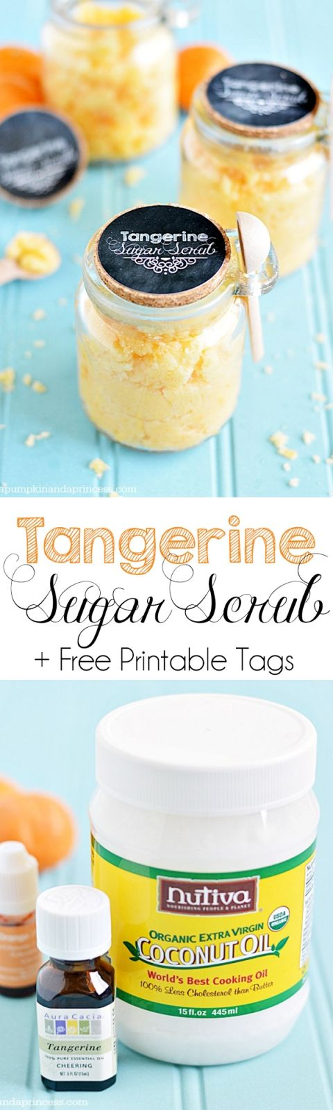 Tropical Sugar Scrub Recipe