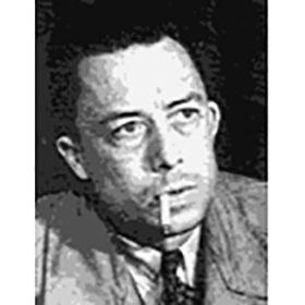 カミュ Camus,Albert  (1913-1960)アルジェリア生れ。フランス人入植者の父が幼時に戦死、不自由な子供時代を送る。高等中学(リセ)の師の影響で文学に目覚める。アルジェ大学卒業後、新聞記者となり、第2次大戦時は反戦記事を書き活躍。またアマチュア劇団の活動に情熱を注ぐ。1942年『異邦人』が絶賛され、『ペスト』『カリギュラ』等で地位を固めるが、1951年『反抗的人間』を巡りサルトルと論争し、次第に孤立。以後、持病の肺病と闘いつつ、『転落』等を発表。1957年ノーベル文学賞受賞。1960年1月パリ近郊において交通事故で死亡。 ペスト=アルジェリアのオラン市で、ある朝、医師のリウーは鼠の死体をいくつか発見する。ついで原因不明の熱病者が続出、ペストの発生である。外部と遮断された孤立状態のなかで、必死に「悪」と闘う市民たちの姿を年代記風に淡々と描くことで、