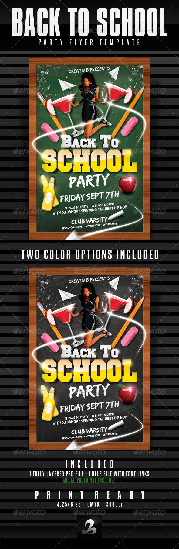 back to school party flyer template fonts college parties and flyer template