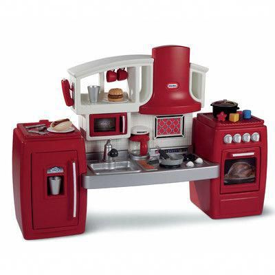 Look What I Found On Wayfair Indoorplayhousekits Play Kitchen Play Kitchen Sets Kitchen Sale