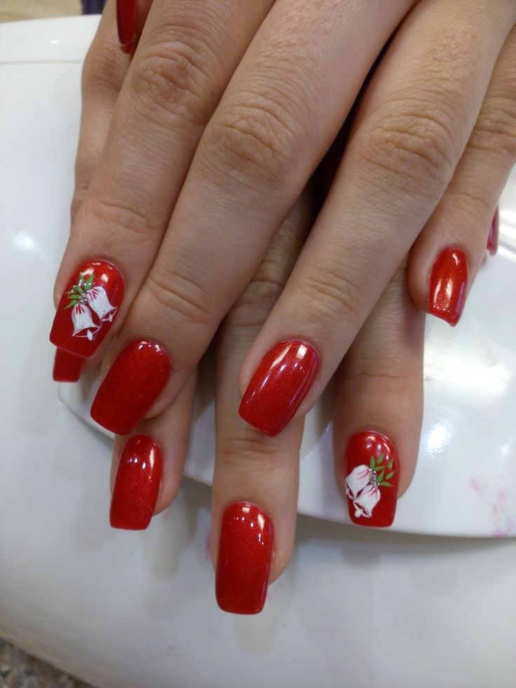 CHRISTMAS DESIGN BY MEGAN - ORCHID NAILS and SPA in VALLEJO
