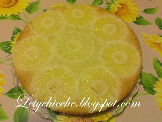 Letychicche: Torta all'ananas