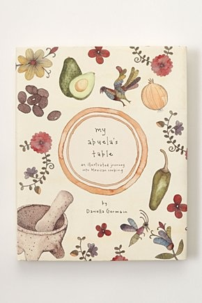 Anthropologie exclusively sells beautiful looking books. This cover is so sweet!