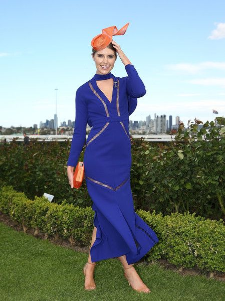 Georgia Connolly Photos Photos - Georgia Connolly, 2016 Flemington Ambassador poses during Melbourne Racing at Flemington Racecourse on October 2, 2016 in Melbourne, Australia. - Melbourne Racing