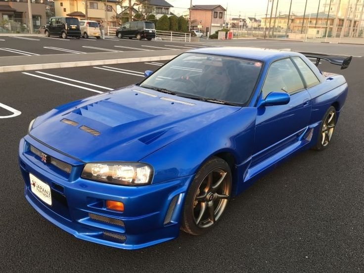 Nissan SKYLINE GT-R. R34 body kit, 1992, used for sale