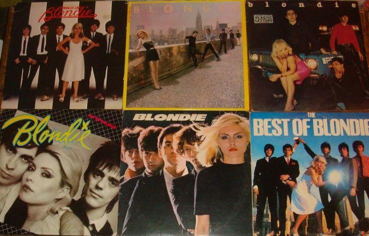 Lot Of 6 Blondie Vinyl Lps New Wave Punk Debbie Harry