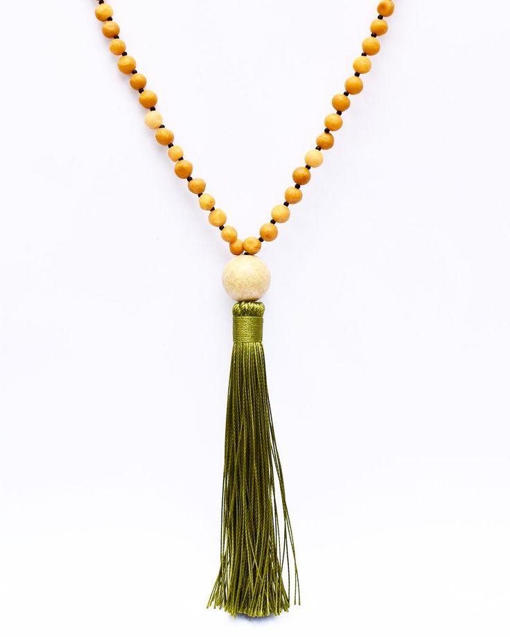 Mala Bead tassel meditation necklace  #mala #malabeads #mantra #meditation #yoga #gypsy #boho #bohemian #bohochic #buylocal #madeinamerica #oahu #madeinhawaii #etsyshop #etsyjewelry #etsy #necklace #gemstones #tassel #tasselnecklace