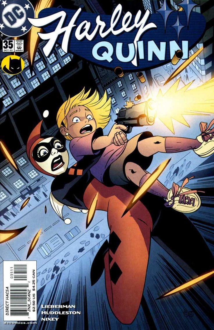 2003-10 - Harley Quinn Volume 1 - #35 - Behind Blue Eyes: Part 3 #HarleyQuinnComics #DCComics #HarleyQuinnFan #HarleyQuinn #ComicBooks