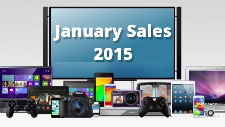 The January sales promise to deliver lots of great deals on tech from laptops and tablets to TVs and soundbars.