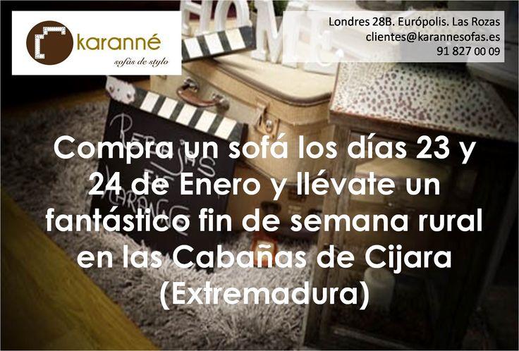 Aniversario Karanné!!  http://karannesofas.es/blog/10_ANIVERSARIO-KARANN%C3%89--OS-ESPERAMOS--  No os lo perdáis, Os esperamos!!!  Aquí podéis obtener vuestra oferta, que podéis presentar en tienda:  https://www.facebook.com/www.karanne.es/posts/318943948304698