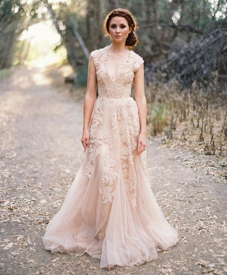 17 Best ideas about Flowy Wedding Dresses on Pinterest | Wedding ...