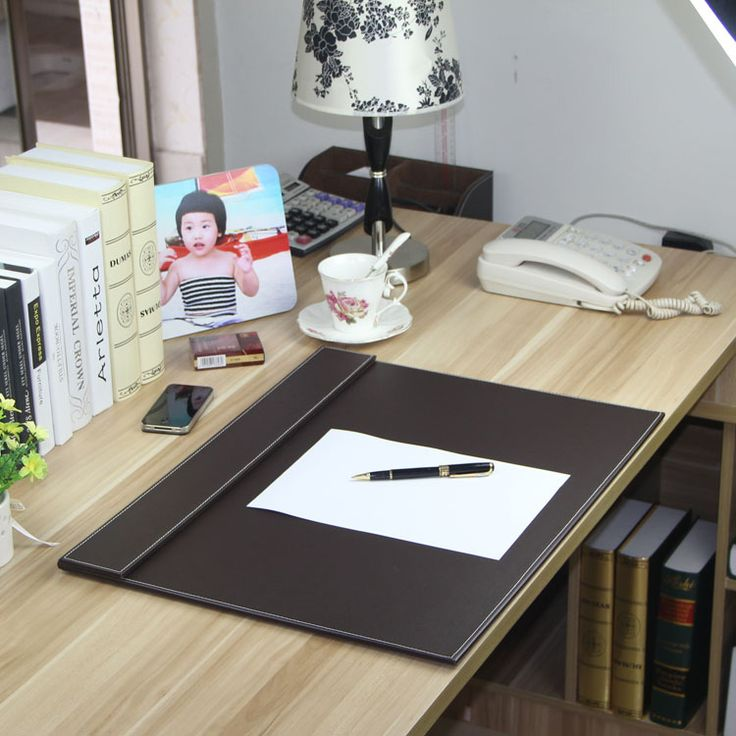 中国 革クリップボード 卸売業者からのオンライン 卸値での 革 ... 60 × 45センチ大オフィスデスクpuレザー設計描画書き込みボードファイルフォルダキーボード
