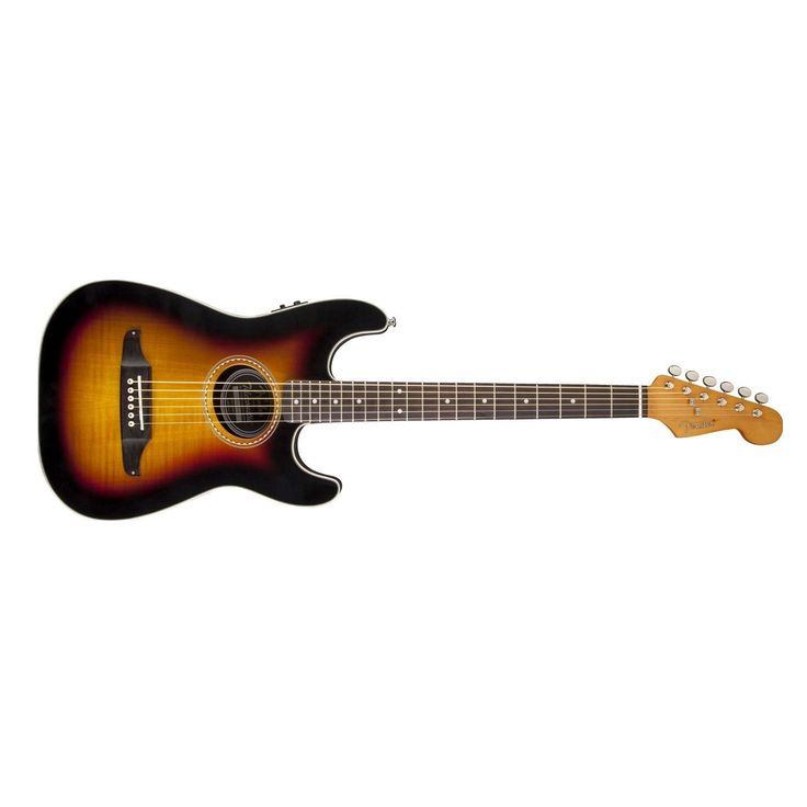 Fender Stratacoustic Premier Acoustic Electric Guitar in 3 Color Sunburst